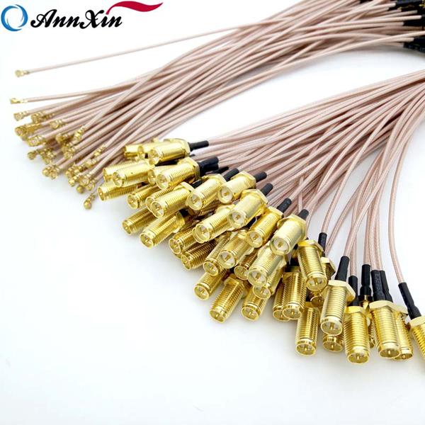 Factory Wholesale Sma Female To Ipex Mh4 Ufl Cable With RG178 (8)