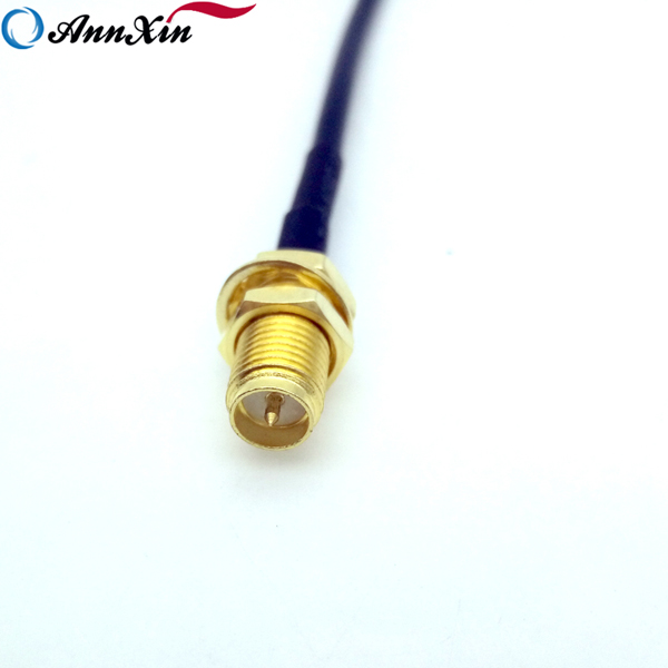 RG174 RP SMA Male Right Angle To RP SMA Female 50 Ohm Coaxial Cable Assemblies (6)