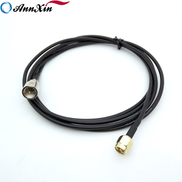 Customized RF Connector SMA Male to FME Male Pigtail RG174 Cable (5)