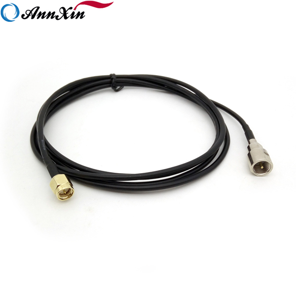 Customized RF Connector SMA Male to FME Male Pigtail RG174 Cable (6)
