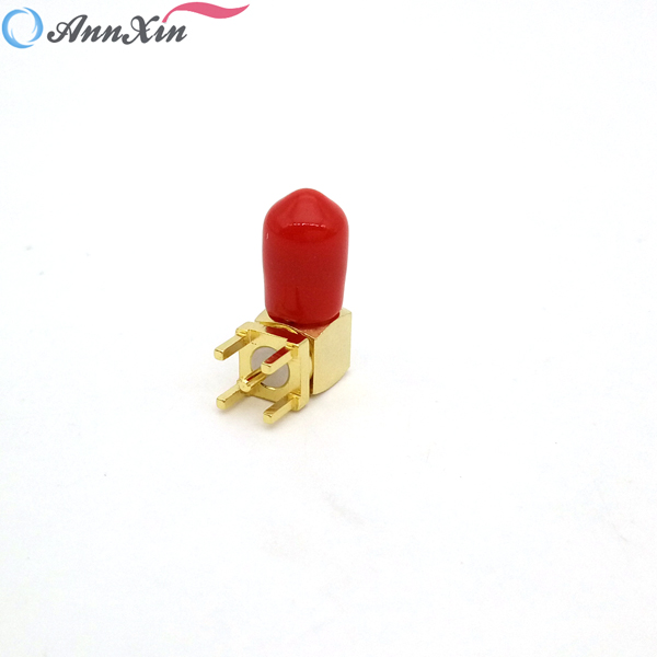 Factory Price Right Angle SMA Connector SMA Female Right Angle PCB Mount Connector (2)