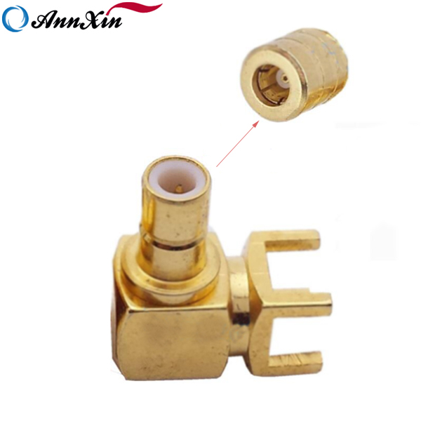 High Quality Wholesale SMB Right Angle Connector For PCB Mount (2)