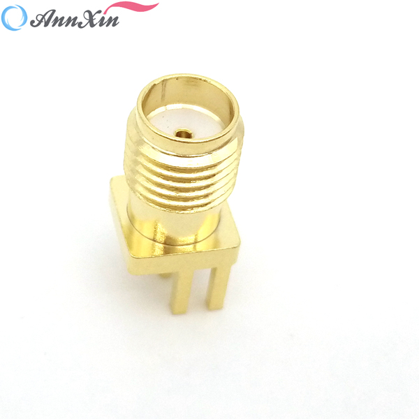 SMA Connector PCB Mount Female Outlet Jack Connector (1)