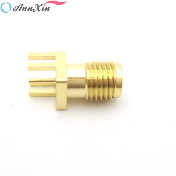 SMA Connector PCB Mount Female Outlet Jack Connector (4)