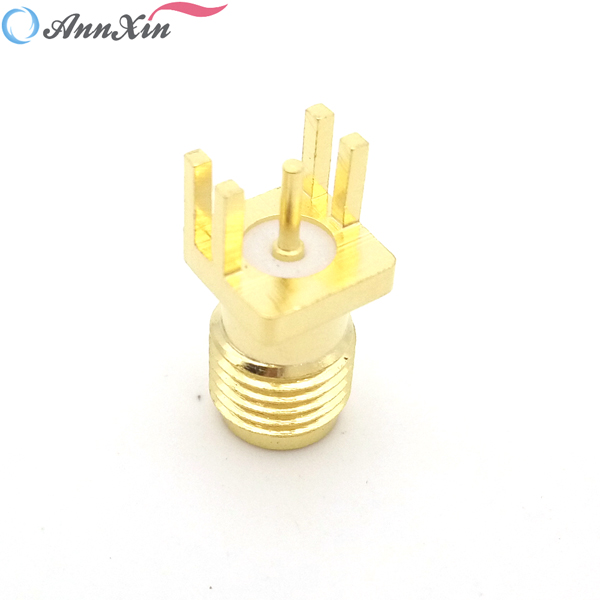SMA Connector PCB Mount Female Outlet Jack Connector (8)