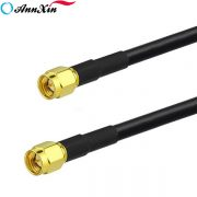 SMA Male to SMA Male Straight RG223 Coaxial Pigtail Cable 41cm (4)