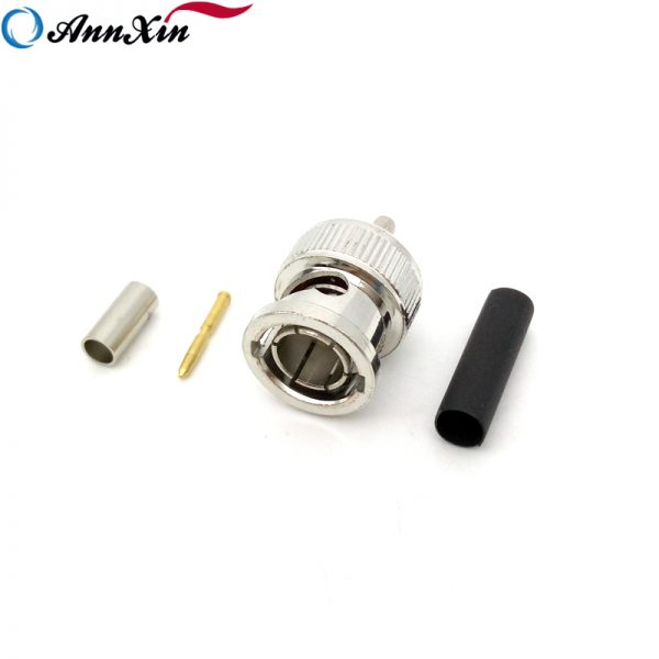 Wholesale High Quality BNC Male Connector Crimp BNC Pin Connector For RG179 Cable (4)