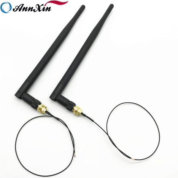 2 x IPEX MHF4 U. fl To RP-SMA Female 4dBi Wifi Antena (2)