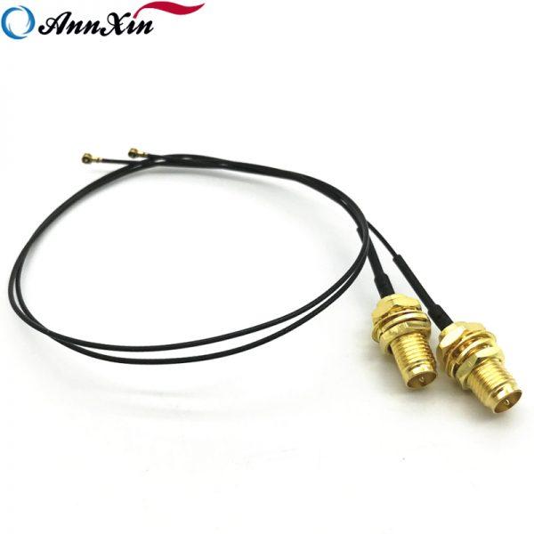 2 x IPEX MHF4 U. fl To RP-SMA Female 4dBi Wifi Antena (6)