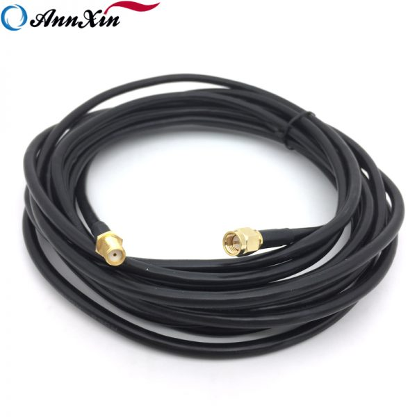 5M Long SMA Female to SMA Male Connector RG 58 Coaxial Cable Assembly (7)