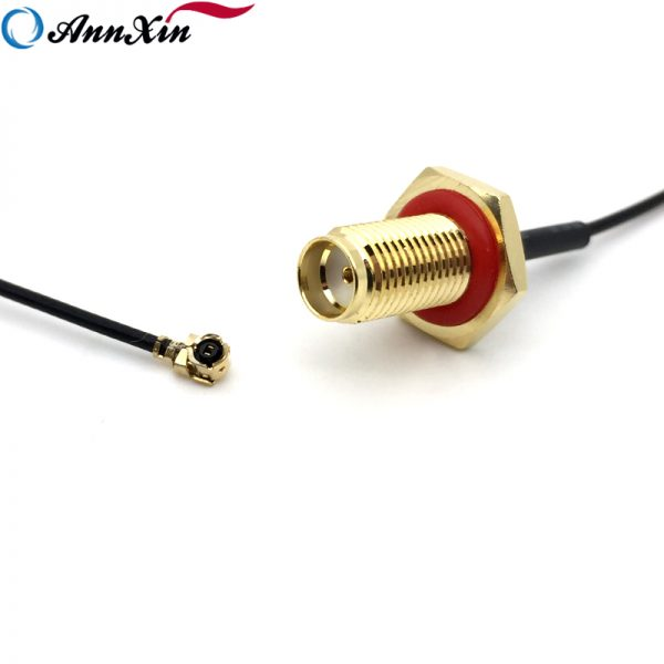 5cm Long RF 1.13 Pigtail Cable With Waterproof SMA Female Connector (4)