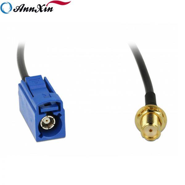 Hot Selling Fakra C Jack to SMA Jack Bulkhead RG174 Cable 20cm Long (2)