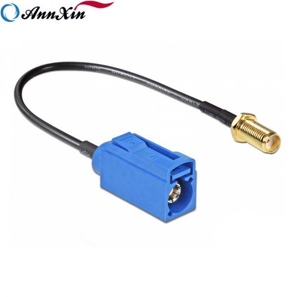 Hot Selling Fakra C Jack to SMA Jack Bulkhead RG174 Cable 20cm Long (3)