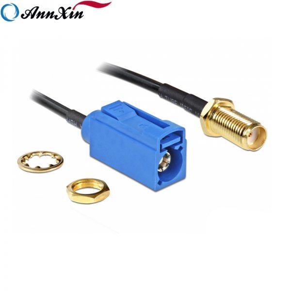 Hot Selling Fakra C Jack to SMA Jack Bulkhead RG174 Cable 20cm Long (4)