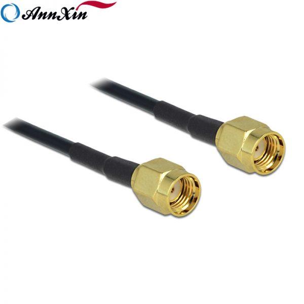 RP-SMA Male Plug to RP-SMA Male Plug RG174 Coaxial Cable (2)