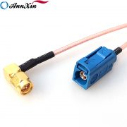 Wholesale Fakra C female To SMA Male Right Angle Pigtail RG316 RF Cable GPS Extension Cable (4)